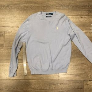 Baby Blue Polo by Ralph Lauren Sweater